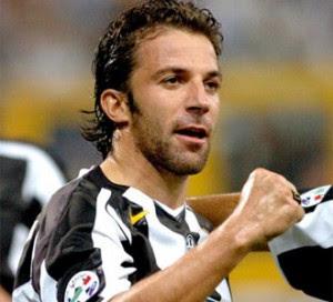 Del Piero carica la Juventus