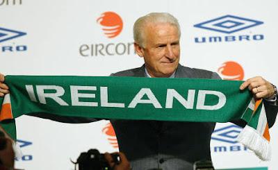 Irlanda-Francia, va male al Trap