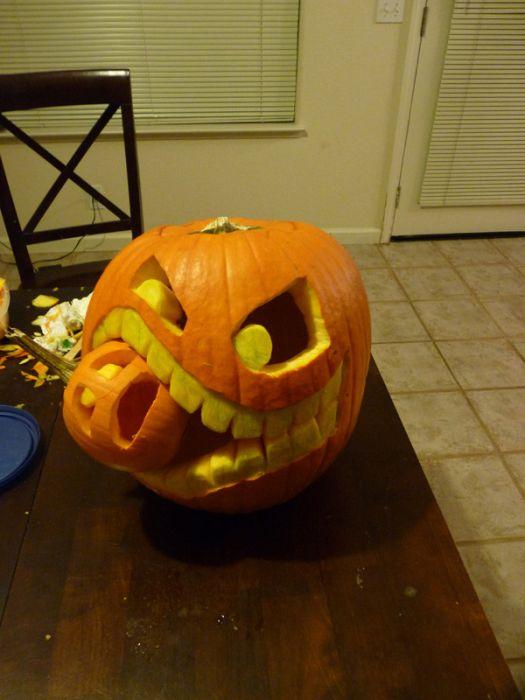 Halloween 2010 comment creuser et d corer votre - Comment decorer pour halloween ...