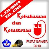 Pusat Bahasa Lomba Blog