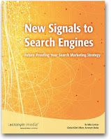 New signals to Search Engines by Mike Grehan - download it for free