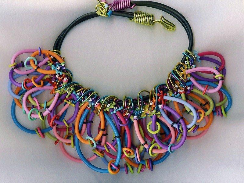 Studio Marcy ~ Marcy Lamberson: Rainbow Colored Rubber Tubing- Fun ...