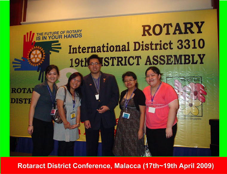 Rotaract District Conference (17th-19th April 2009)