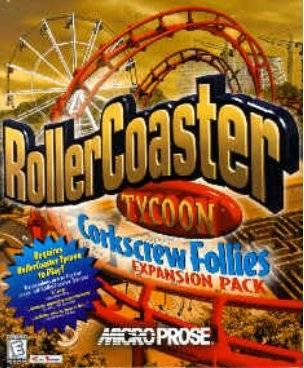 rollercoaster tycoon corkscrew follies windows 7