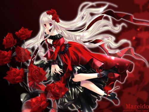 Aula de Magia Red-gothic-anime-pretty