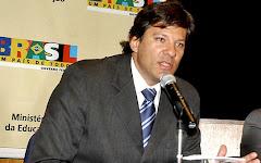 Ministro da Educação Fernando Haddad