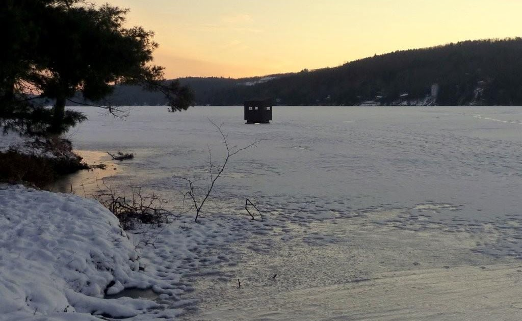 Guided Vermont Ice Fishing Trips Afternoon Evening On