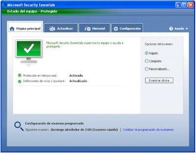 Microsoft Security Essentials 1.0.1959