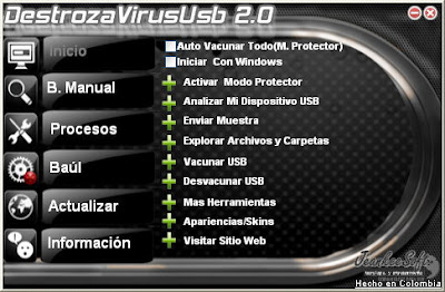 DestrozaVirusUsb Antivirus 2.0.2.0