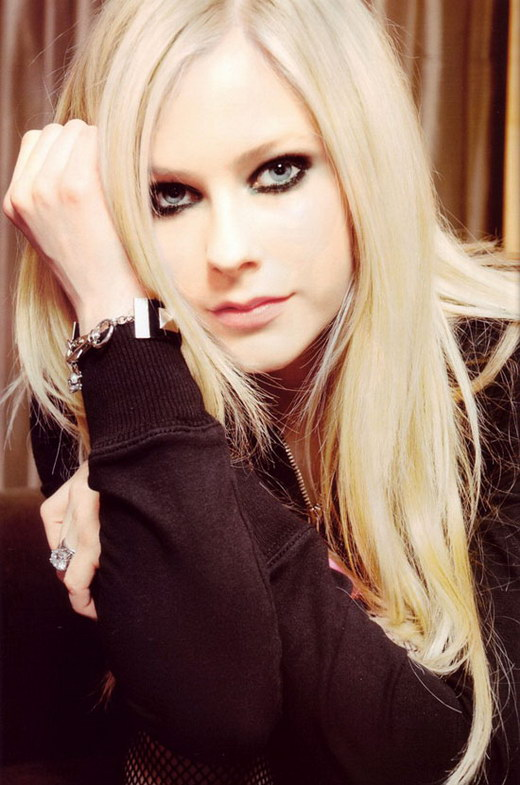 "Avril Lavigne's much anticipated fourth album, ""Goodbye Lullaby"" is almost"
