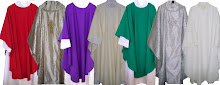 <b>Chasubles of every color</b>