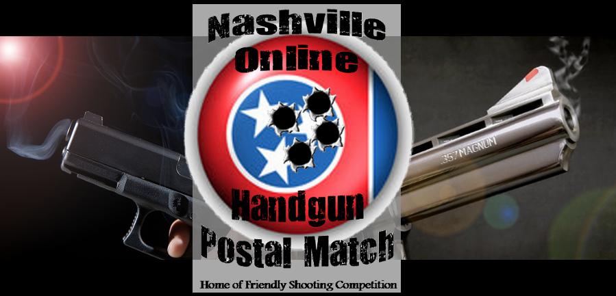 Nashville Online Handgun Postal Match