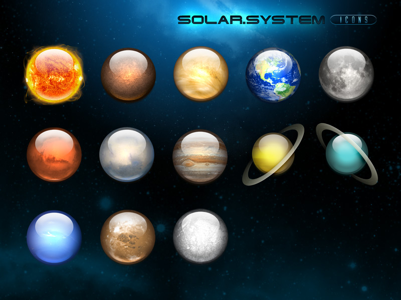 color of our planets - photo #16