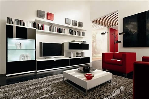 Interior Contrast Design Interior Design Living Room