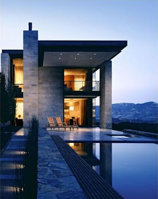 Home 39 S Design Modern Stone House