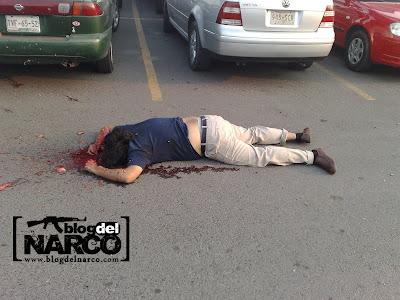 Fotos de los ejecutados en Poza Rica en la plaza gran patio 2