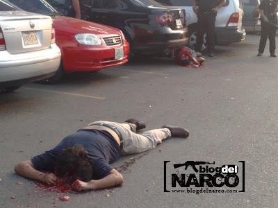 Fotos de los ejecutados en Poza Rica en la plaza gran patio 3