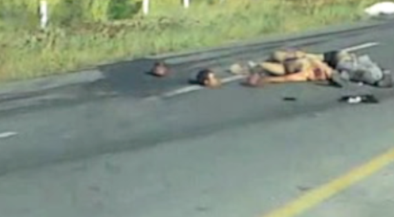 Blog Del Narco Presenta El Siguiente Video Que Fue Grabado Por Un
