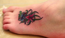 tattoos for womens feet cute women foot tattoos