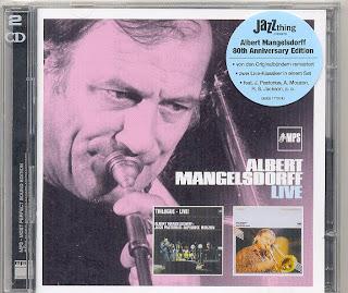 Albert Mangelsdorff sur MPS Albert+Mangelsdorff(Live)
