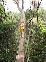 Me on the canopy walk!