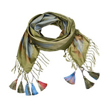 I Need This: Dries Van Noten Printed Tassel Scarf