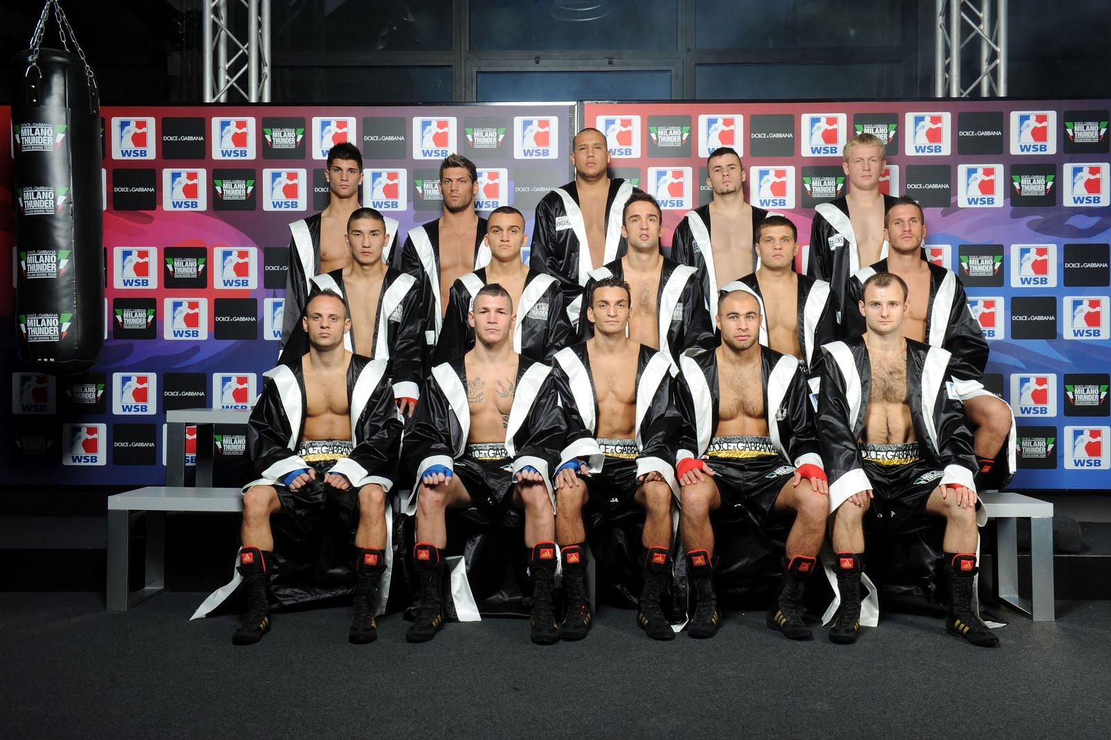 Dolce&;gabbana - milano thunder italian boxing team