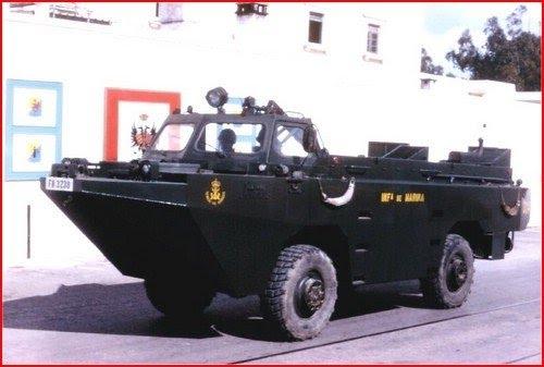 infanteria - BMR-600  y Anfibio PEGASO en la Armada de México Pato