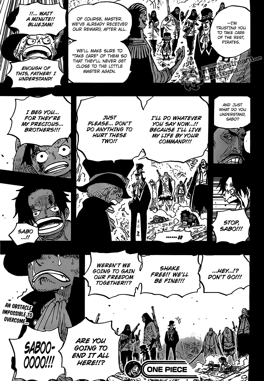 Read One Piece 585 Online | 16 - Press F5 to reload this image
