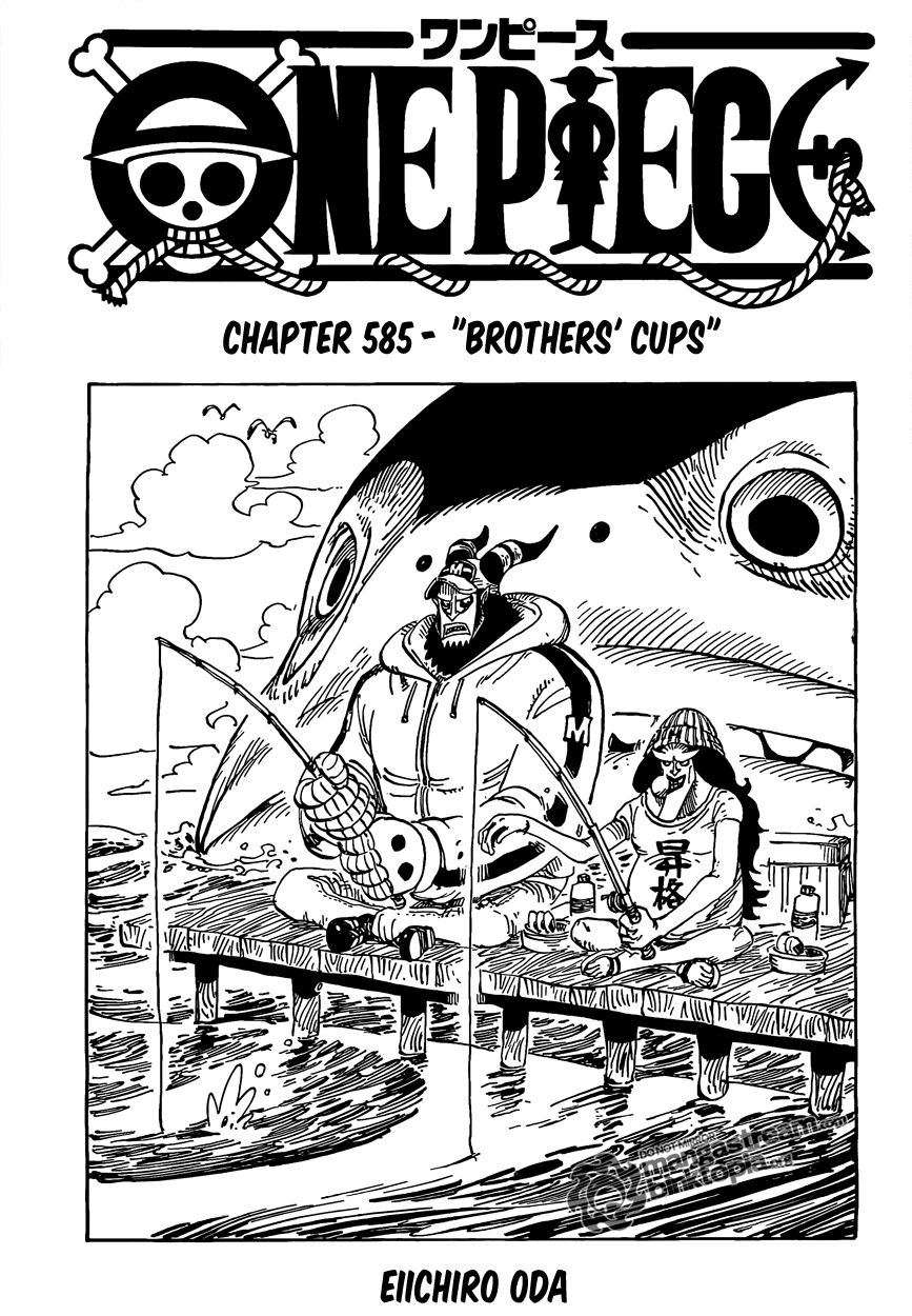 Brother's Cup| Read One Piece 585 Online | 00 - Press F5 to reload this image