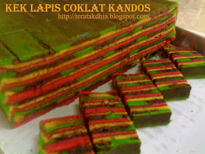Kek Lapis Coklat Kandos