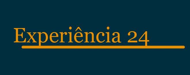 Experiência 24