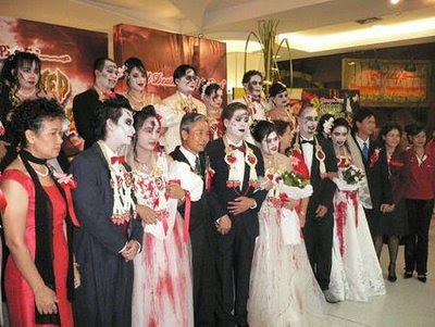 Vampire Wedding Ceremony