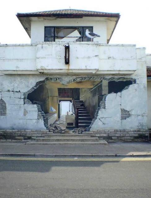 لوحات جدارية ابداعية Wall-drawings38