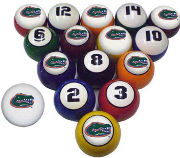 university pool balls