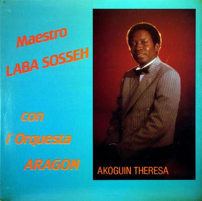 Maestro Laba Sosseh con l'Orquesta Aragon -Akoguin Theresa, Disco Stock
