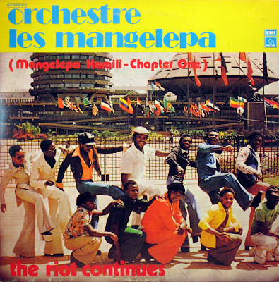 Cover Album of Orchestre Les Mangelepa - The Riot Continues,PathГ© Marconi EMI 1977