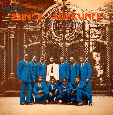 General Prince Adekunle and his Western Brothers -