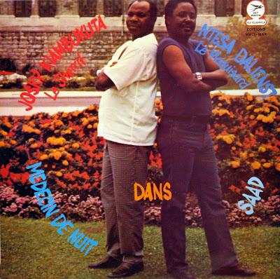 Josky Kiambukuta le Sherrif, Ntesa Dalienst le Maquisarddans Medecin de Nuit / Saad,Editions Mali-Mak 1985