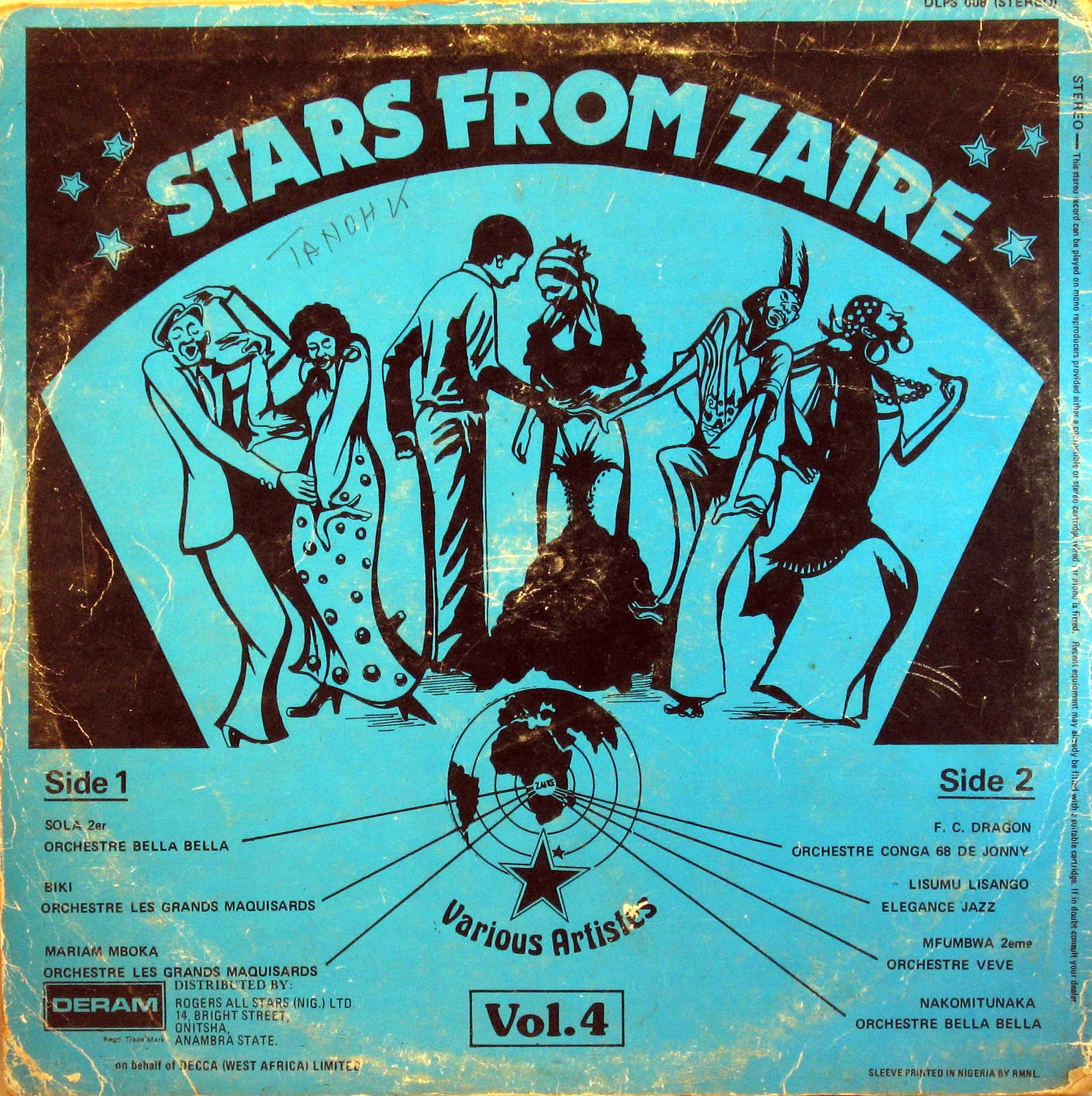 Various Stars Of Zaire Verse Two