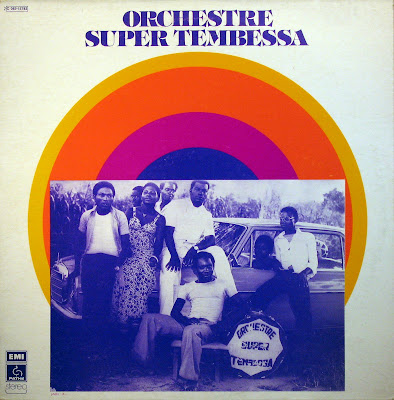 Cover Album of Orchestre Super Tembessa,PathГ© Marconi / EMI 1976