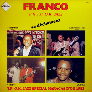 Franco et le T.P. O.K. Jazz se DГ©chaГ®nent,Edipop Production 1982