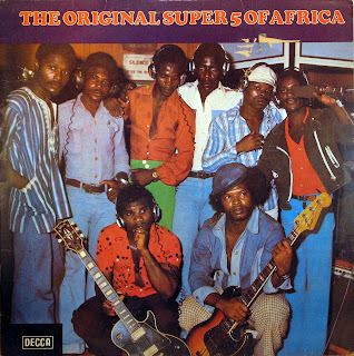 Original Super 5 of Africa - Helena,Olumo / Decca 1977