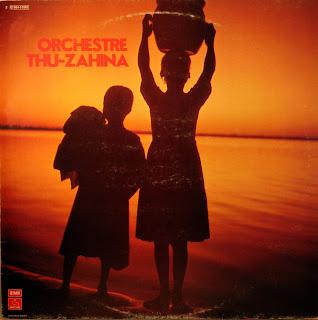 Cover Album of Orchestre Thu-Zahina,PathГ© Marconi / EMI 1977