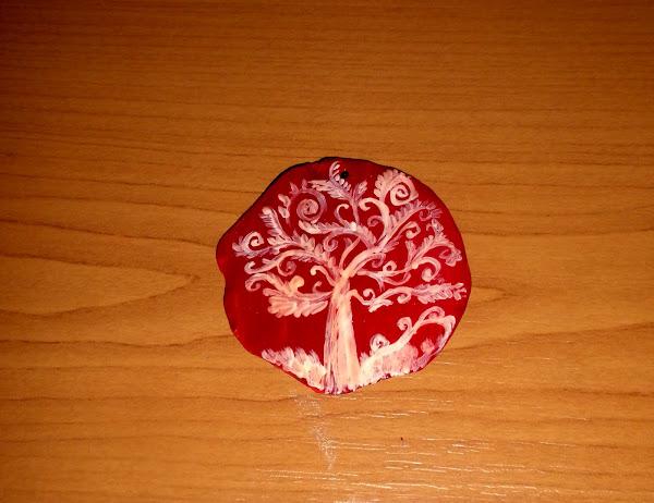 medalion ceramic pictat manual