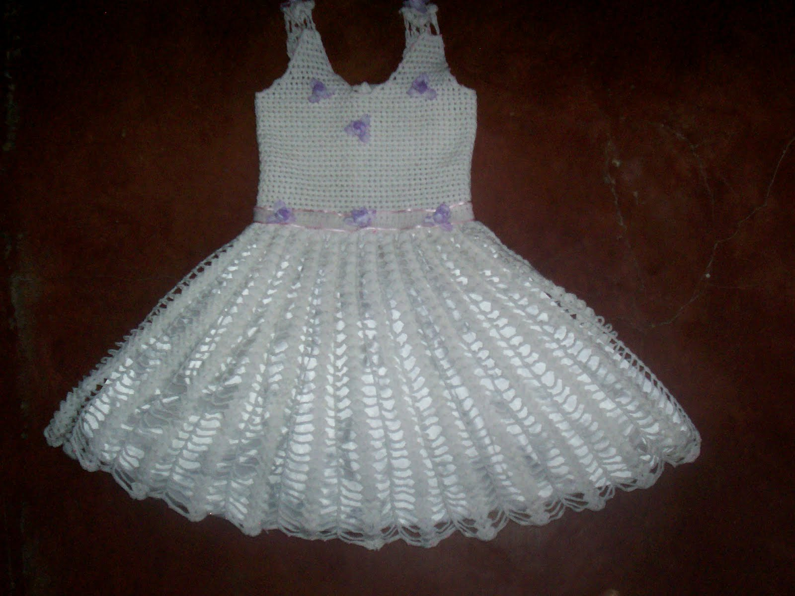 En Vestidos De Crochet Para Ninas Enlaces Temticos and post Todo En ...