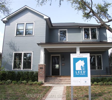 Houston Living First Leed Certified Home In The Heights