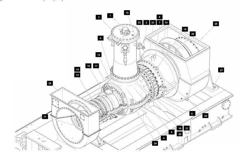 general electric turbine  ge10
