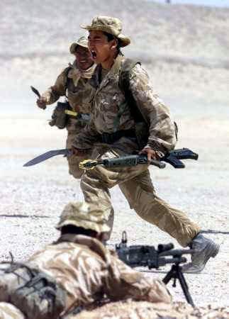 Suku Yang Suka Perang Memiliki Petarung Perang Handal