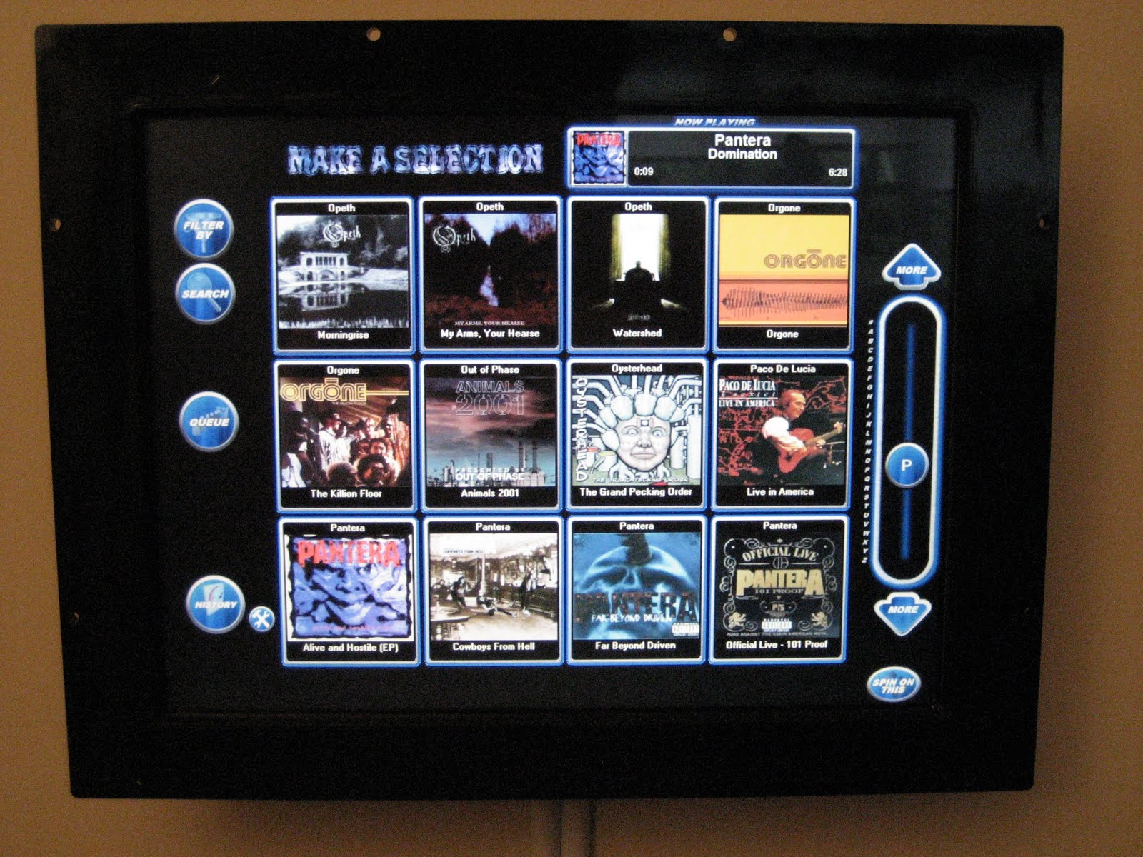 A Modding Home Companion: My Touchscreen Jukebox